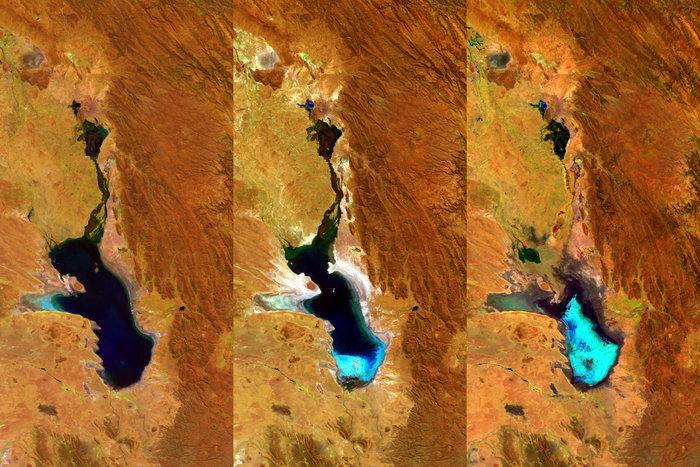 В Боливии исчезло крупное озеро.Вокруг Света. Украина