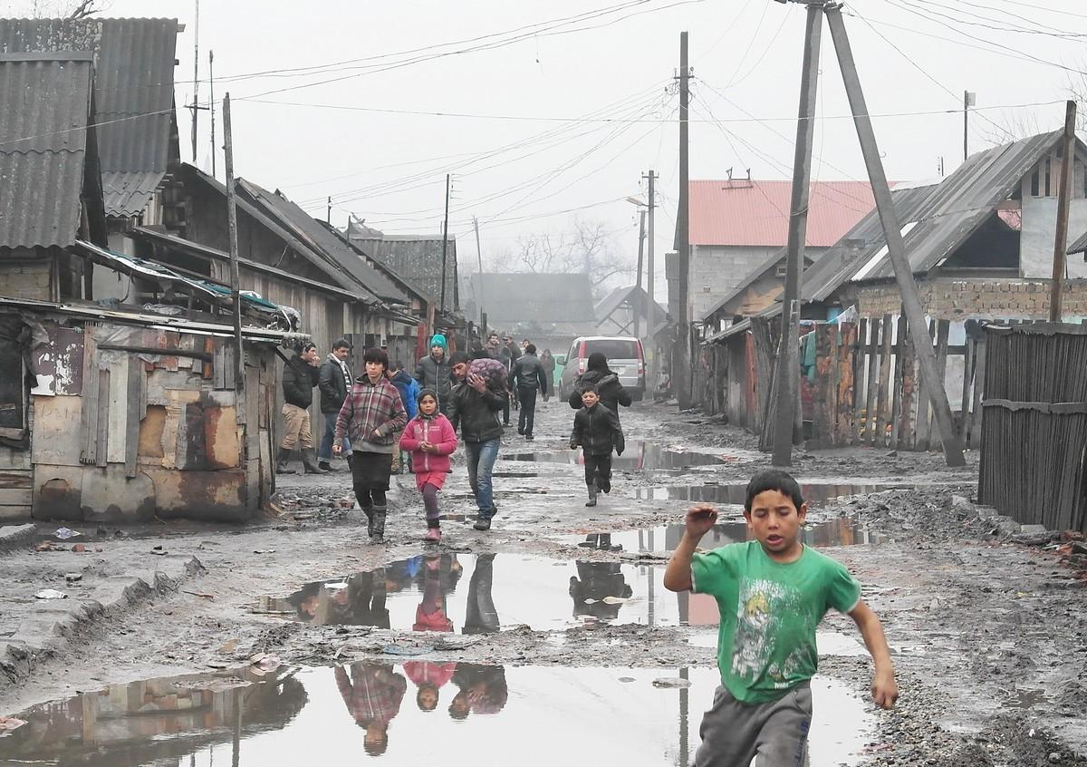 Цыганское гетто. Год 2016.Вокруг Света. Украина