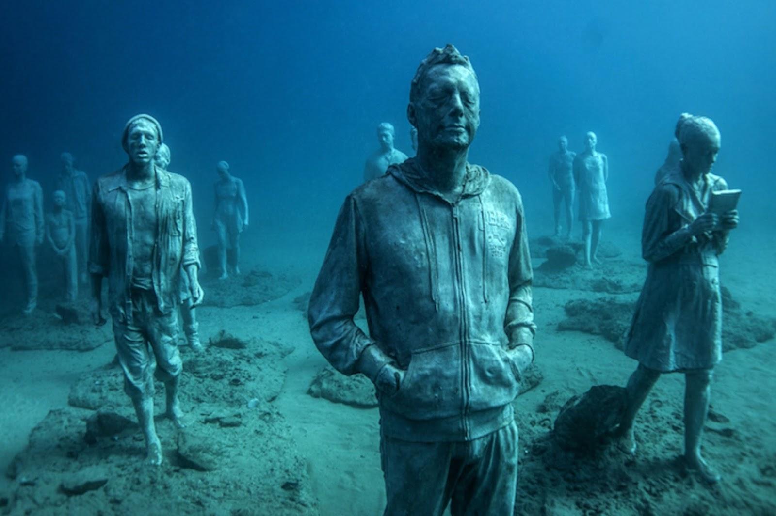 Первый подводный музей искусств в Атлантическом океане.Вокруг Света. Украина