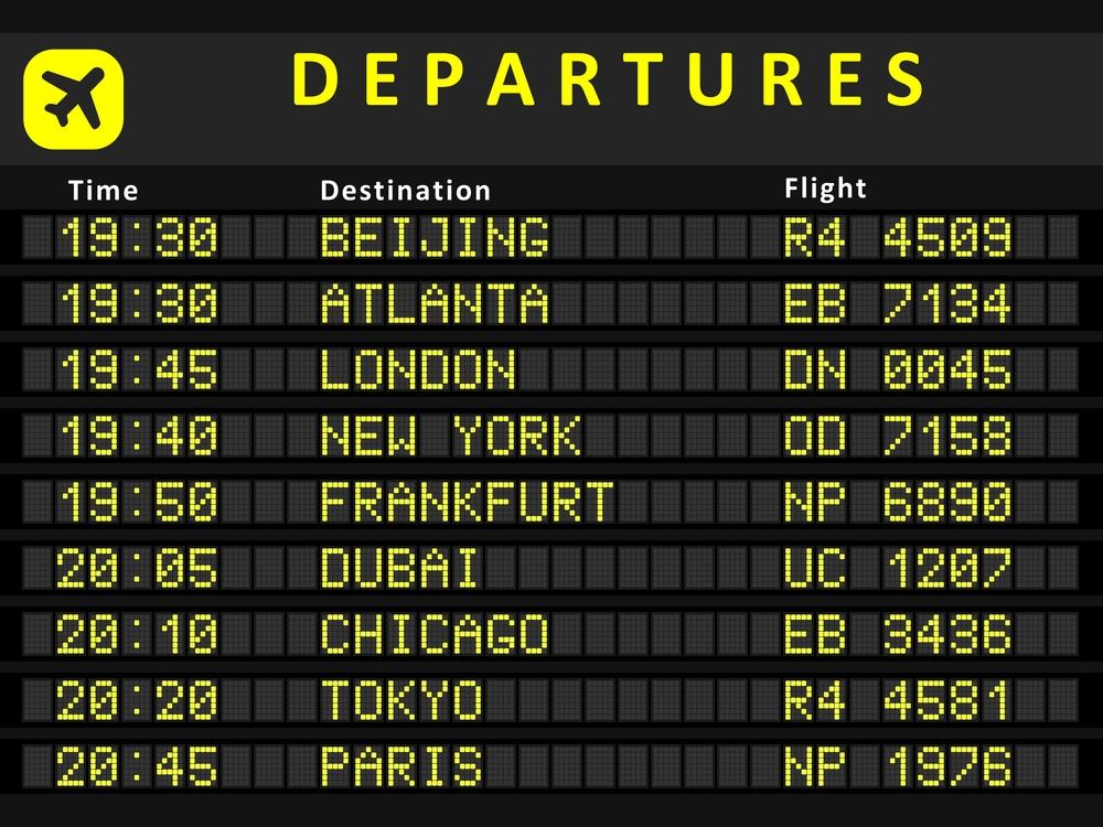 ТОП-10 самых загруженных аэропортов мира.Вокруг Света. Украина
