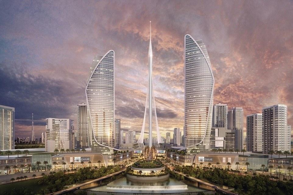 В Дубае построят очередной самый высокий небоскреб.Вокруг Света. Украина