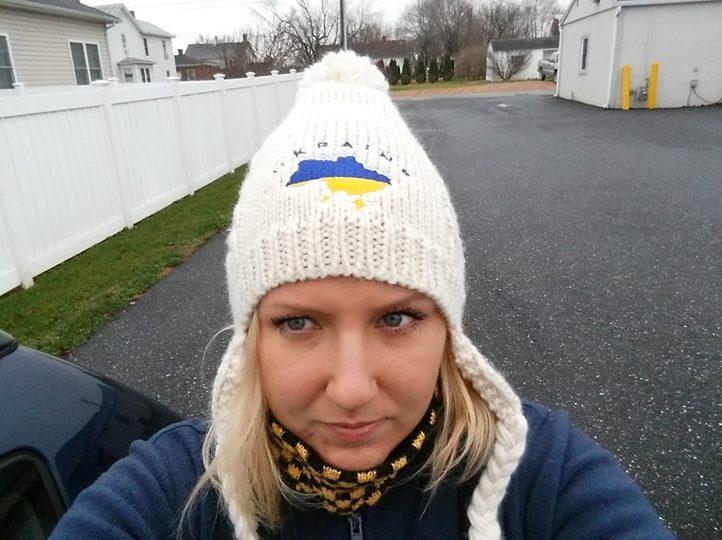 Американка пройдет почти 4000 км ради Украины.Вокруг Света. Украина