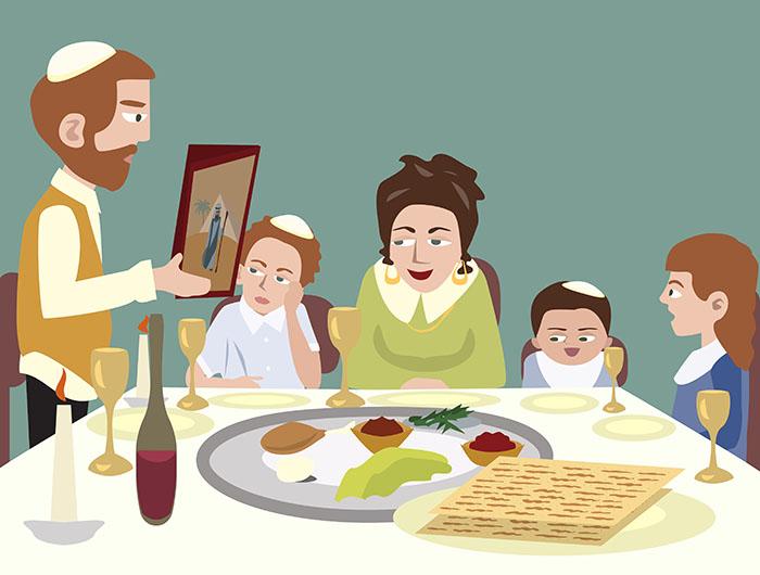 Евреи празднуют Песах.Вокруг Света. Украина