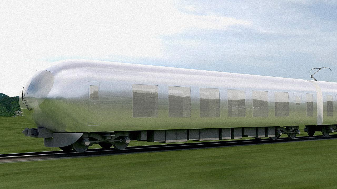 В Японии построят «прозрачный» поезд.Вокруг Света. Украина