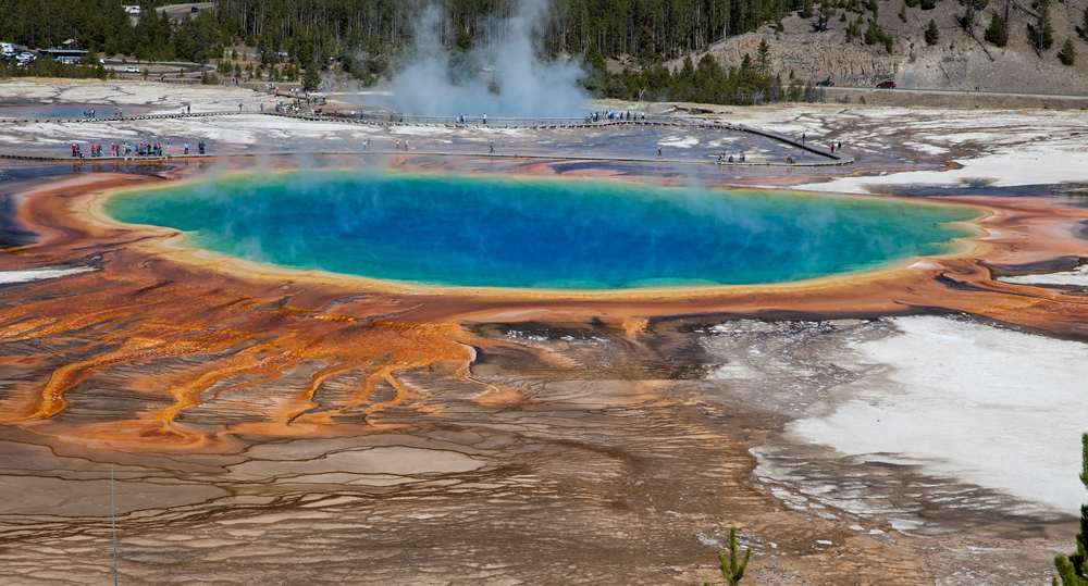 Yellowstone и Grand Canyon - любимые парки американцев.Вокруг Света. Украина