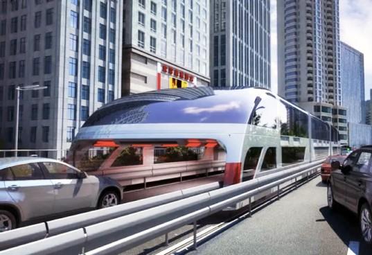 Автобус-тоннель, или метро будущего.Вокруг Света. Украина