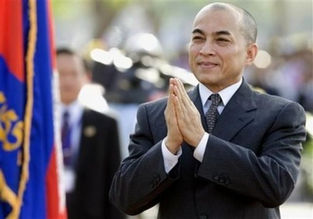 День рождения короля в Камбодже