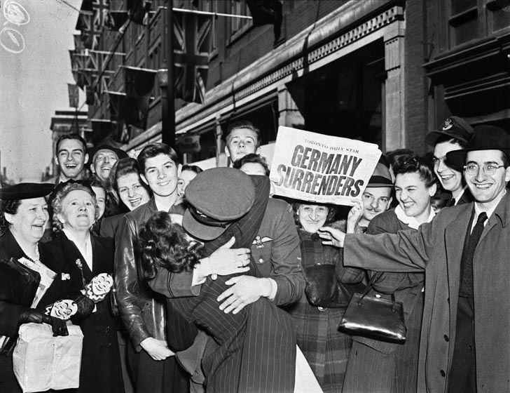 День окончания Второй мировой войны в Европе