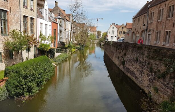 Старинный городок Брюгге