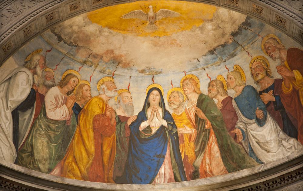 Пятидесятница у христиан западного обряда