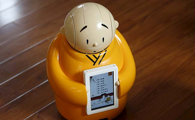 Ничего святого. В Китае изобрели робота-монаха