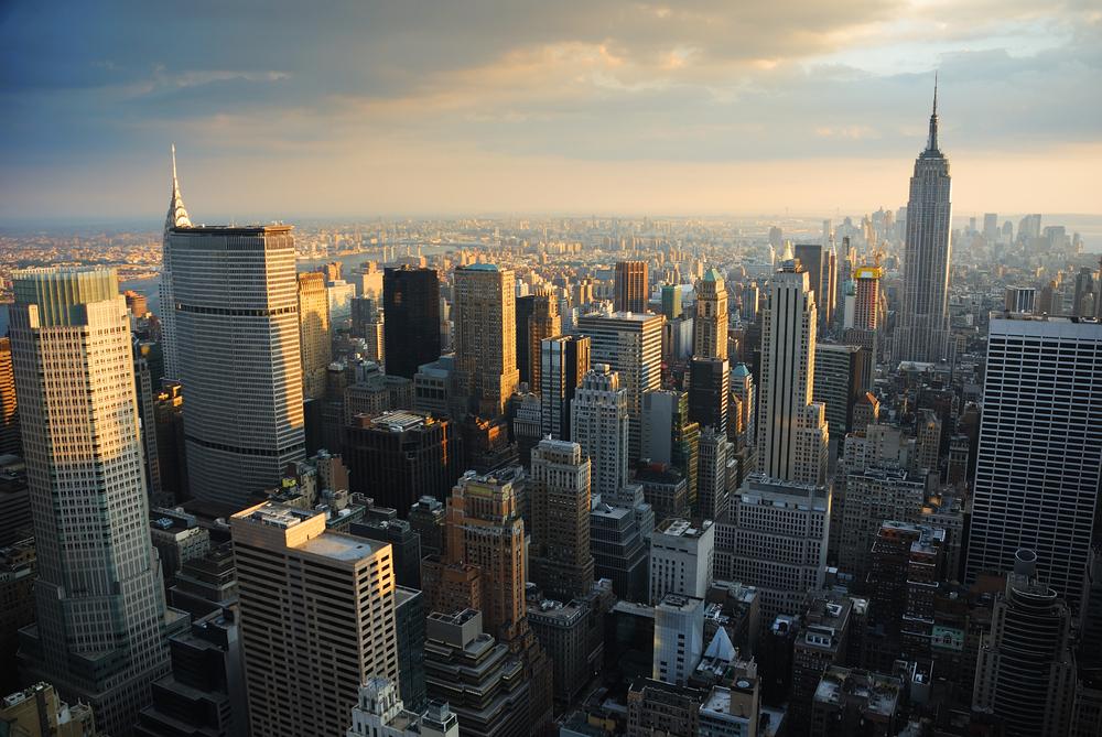 Сверкающая огнями Таймс-сквер и капитализм Уолл-стрит. Записки из Нью-Йорка.Вокруг Света. Украина