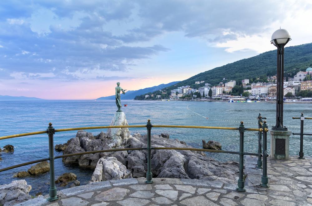 Записки из Хорватии. Курорт Опатия - дорогой праздник старой Европы.Вокруг Света. Украина
