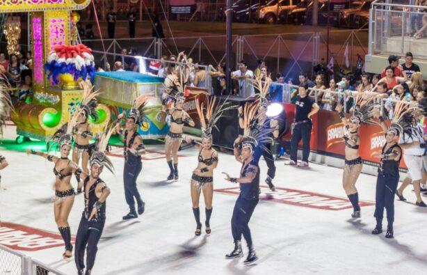 Участники традиционного карнавала