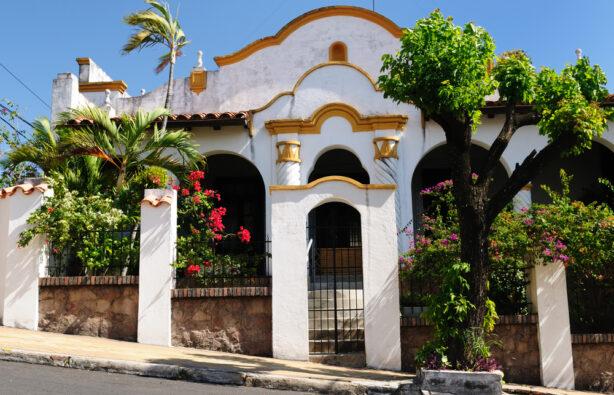 Здание XIX века в центре Асунсьона, Парагвай