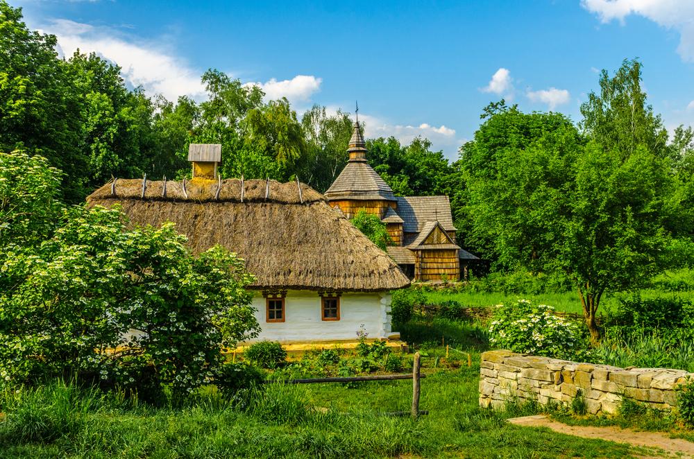 «Пирогово» - крупнейший скансен в Восточной Европе.Вокруг Света. Украина