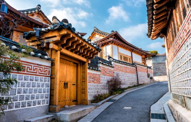 Традиционная корейская архитектура, Bukchon Hanok Village в Сеуле