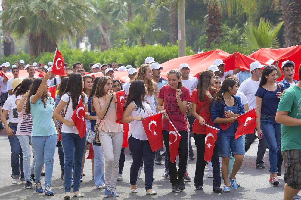 День памяти Ататюрка, день молодежи и спорта в Турции