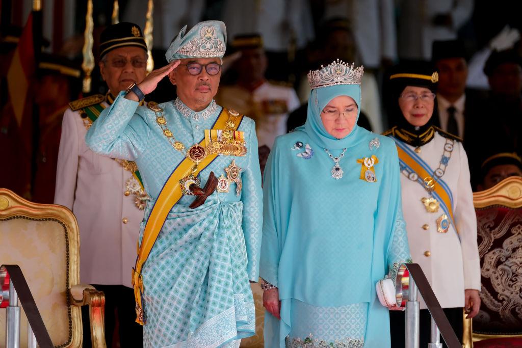 День рождения короля в Малайзии