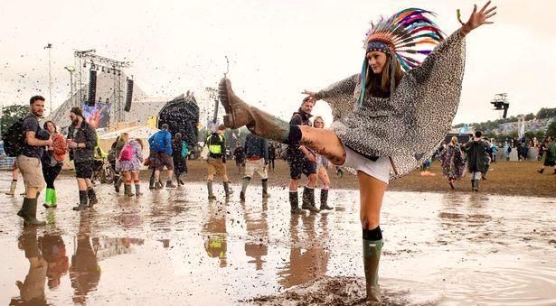 В Великобритании начался музыкальный фестиваль Glastonbury