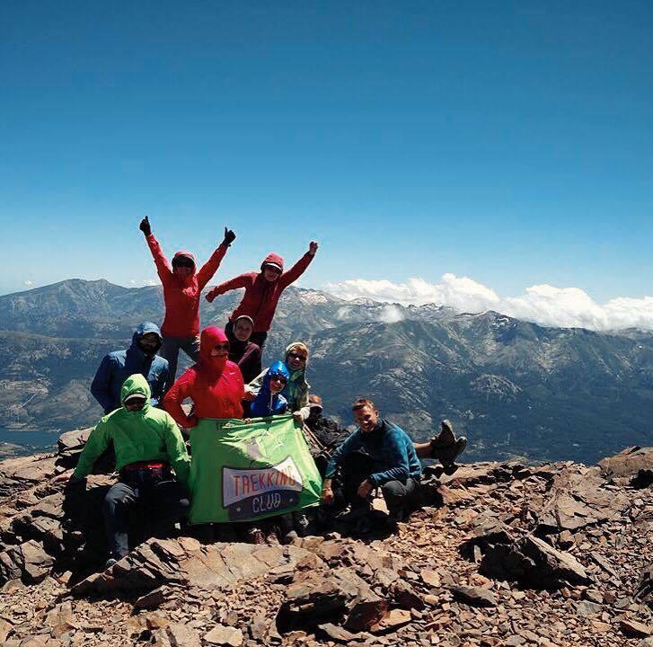 На вершине 2606 метров