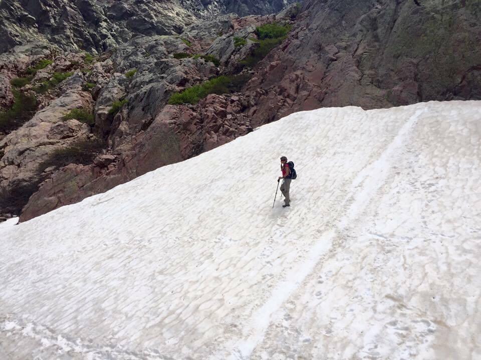 Шагаем по тающим снегам