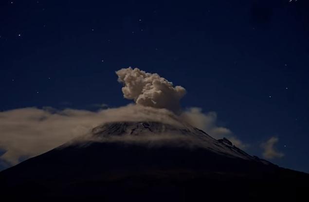В Мексике зафиксировали извержение вулкана.Вокруг Света. Украина