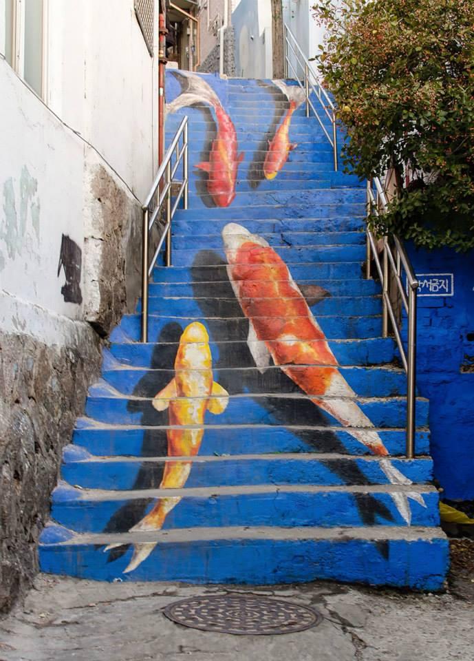Лестница-чудесница.Вокруг Света. Украина