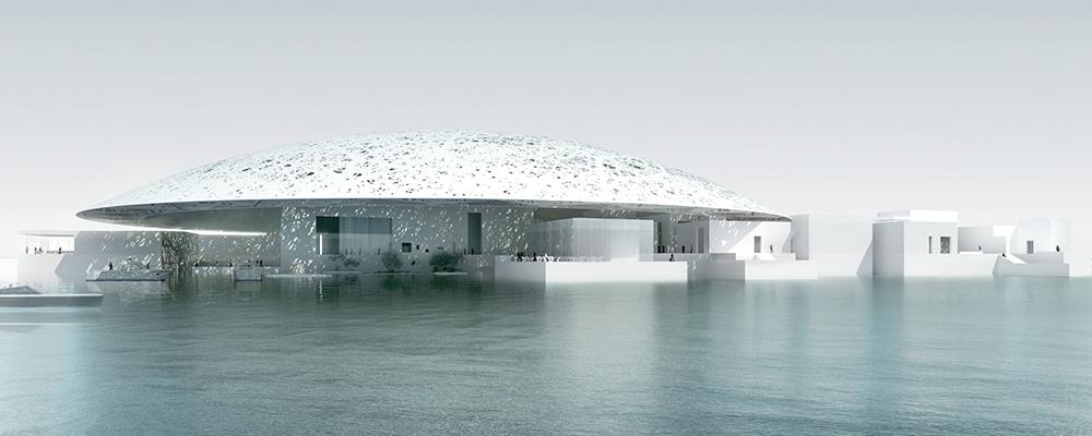 Лувр в Абу-Даби окружили морской водой.Вокруг Света. Украина