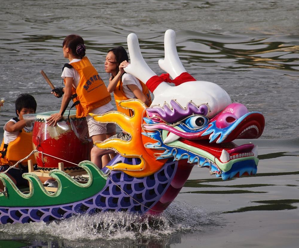 Фестиваль лодок-драконов в Китае, Гонконге, Тайване и Макао