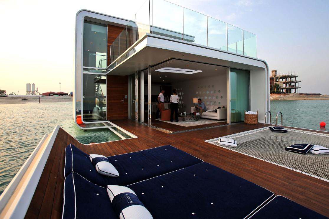 В Дубае начали строить дома на воде.Вокруг Света. Украина