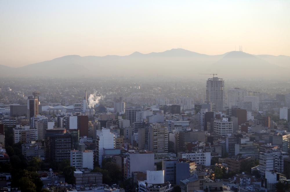 Мехико в смоге. Примите меры