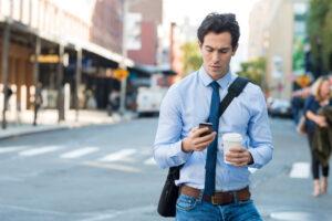 В Австралии протестируют дорожную разметку для пользователей смартфонов