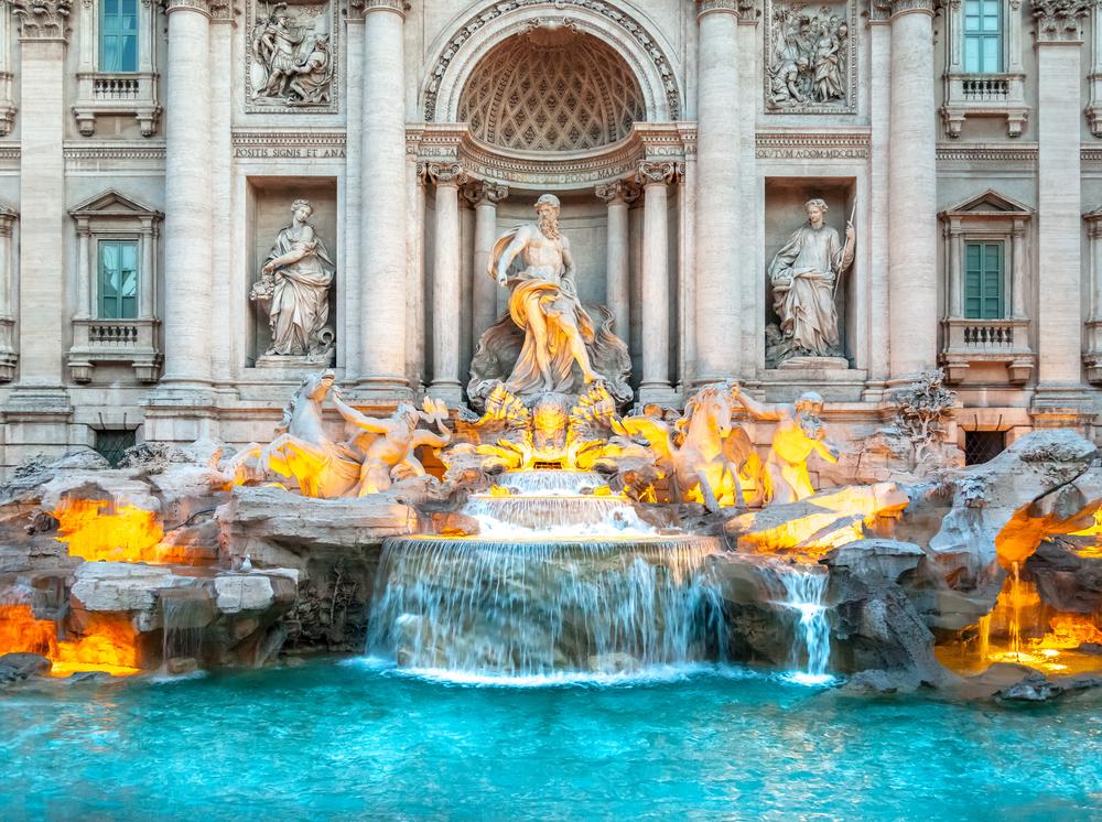 10 лучших фонтанов мира