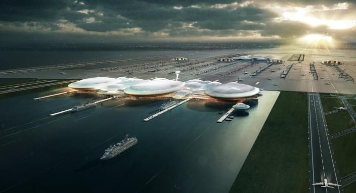 Аэропорты будущего будут строить на воде.Вокруг Света. Украина