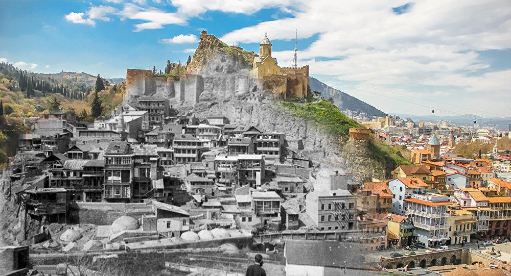 Историю Тбилиси покажут на скалах.Вокруг Света. Украина