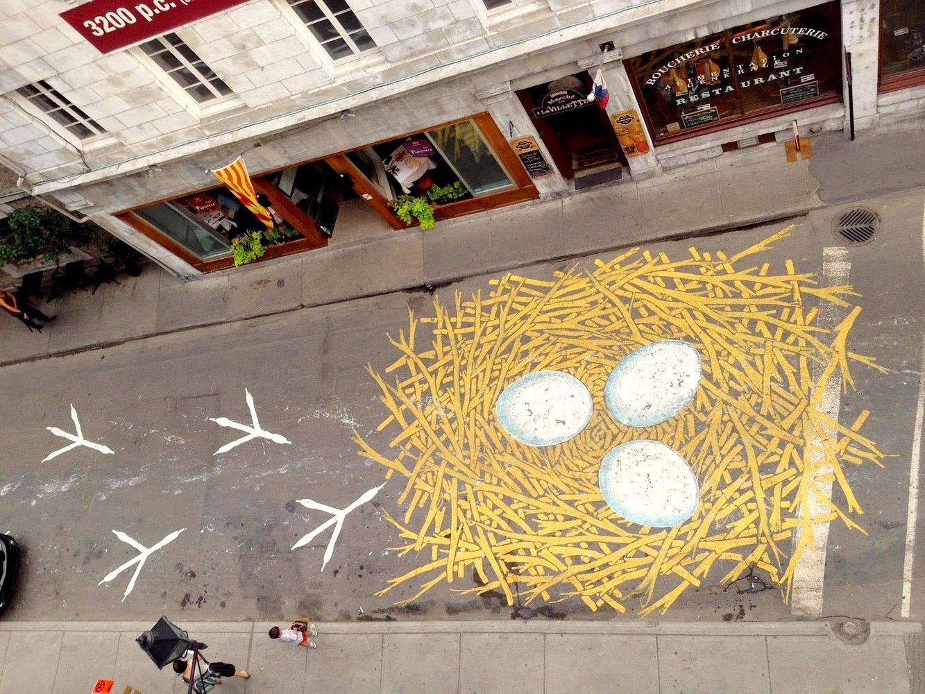 Современное искусство на дорогах Монреаля