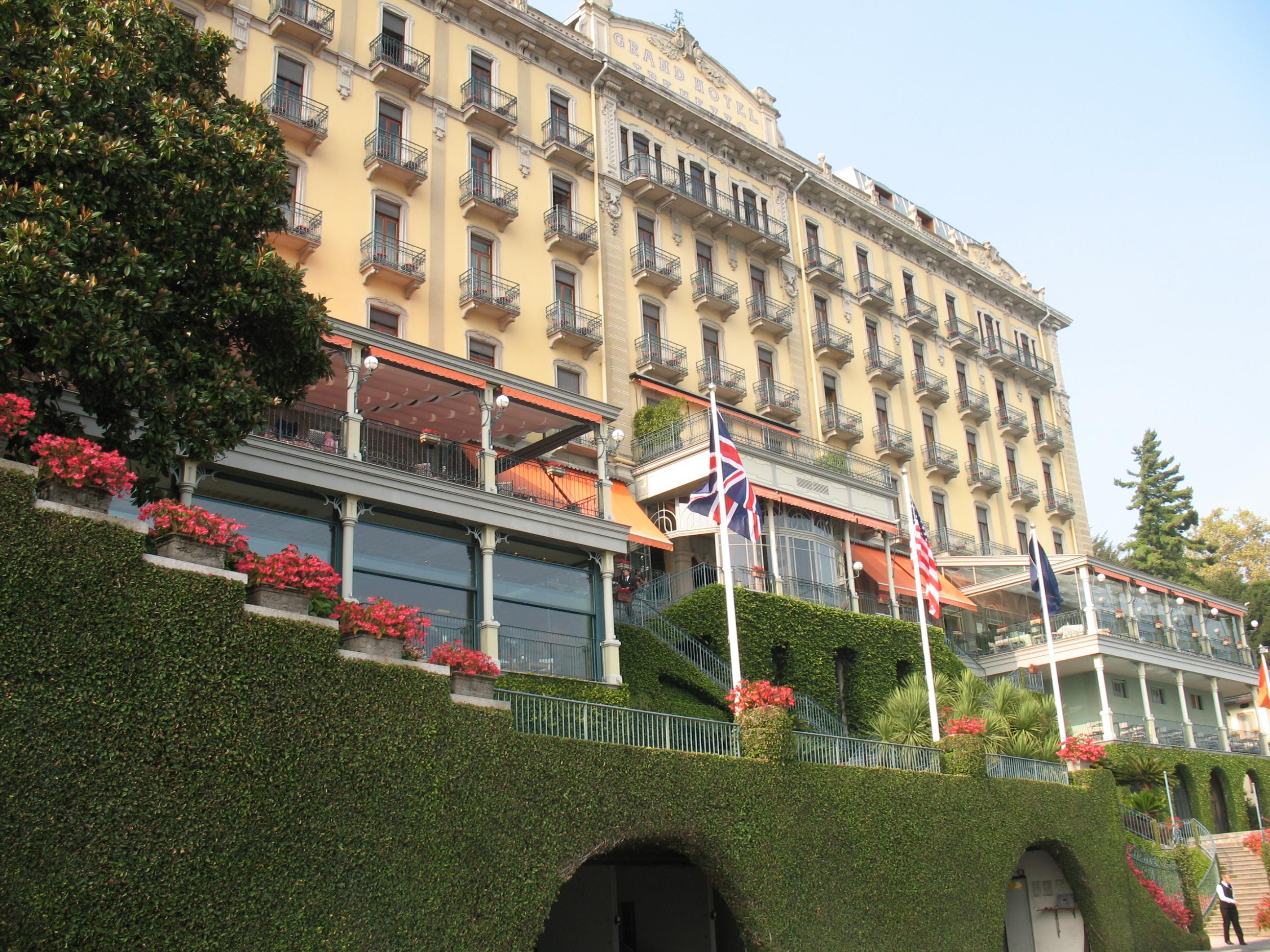 «Гранд Отель», Тремеццо, озеро Комо
