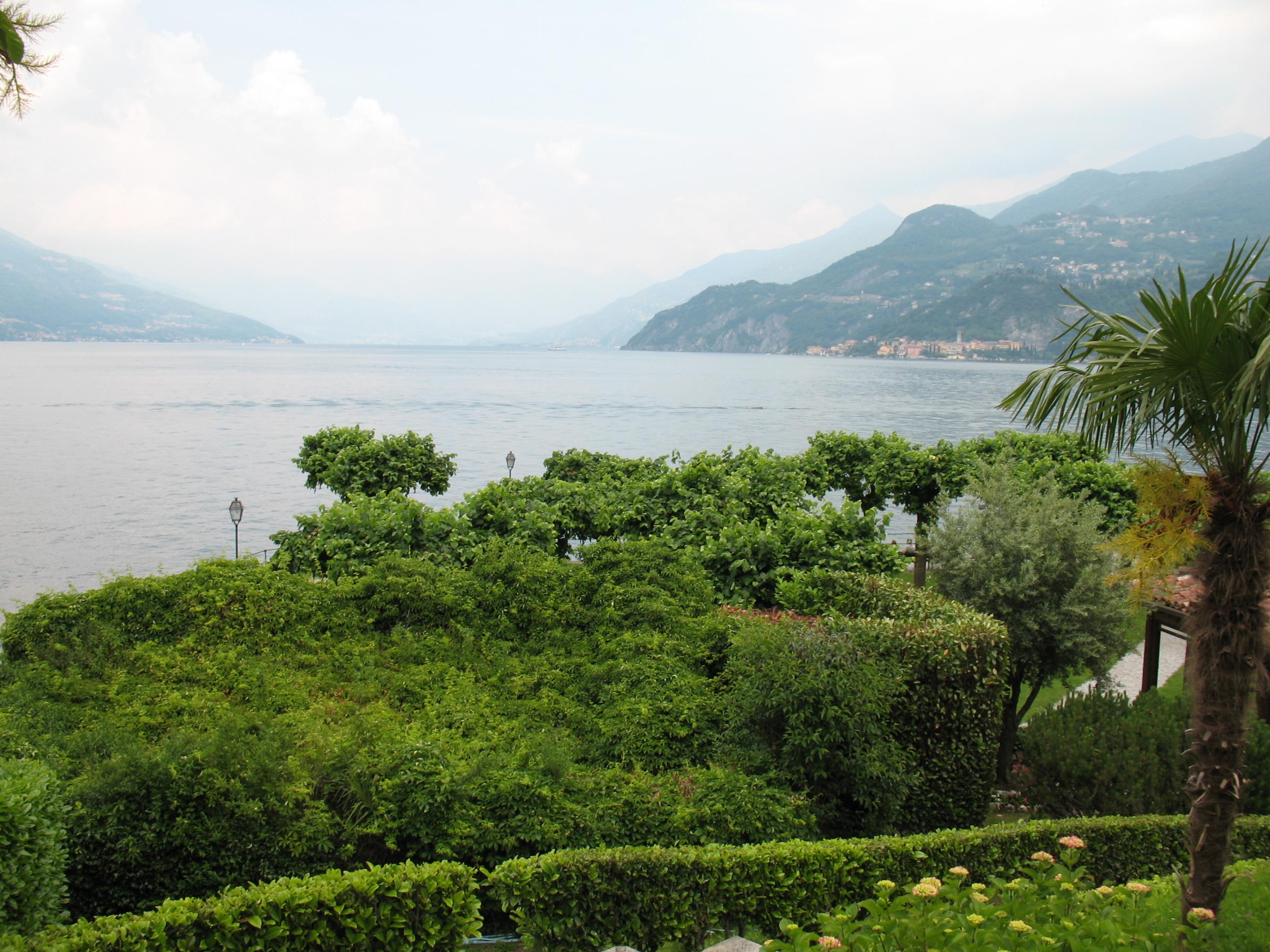Punta, Белладжо, озеро Комо