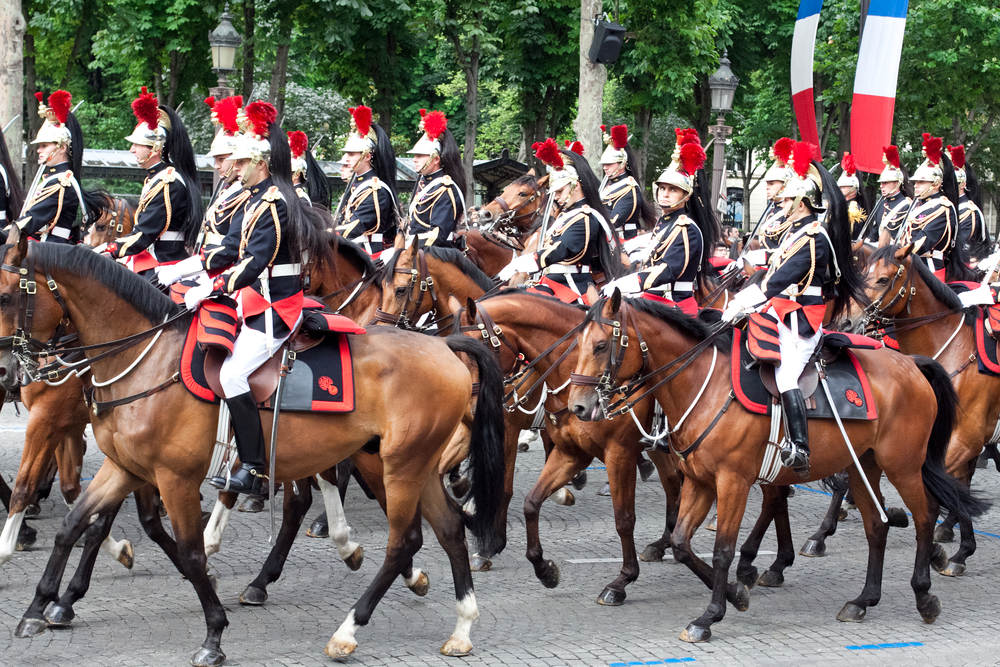 День взятия Бастилии во Франции