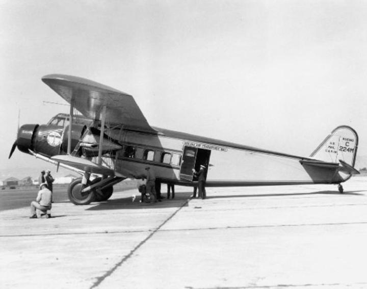 Boeing празднует 100-летний юбилей