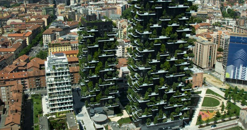 Лес посреди Милана
