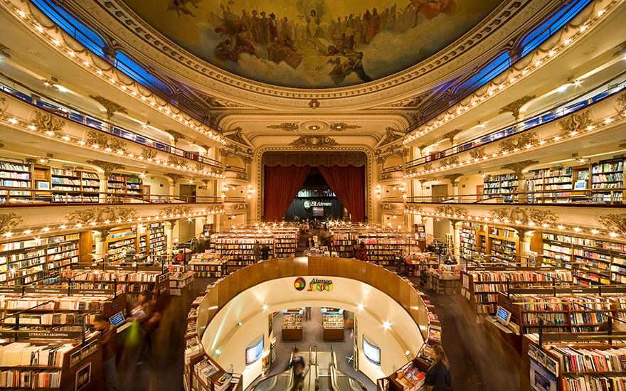 В Буэнос-Айресе столетний театр превратился в книжный магазин.Вокруг Света. Украина