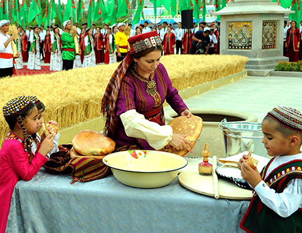 Галла байрамы в Туркменистане