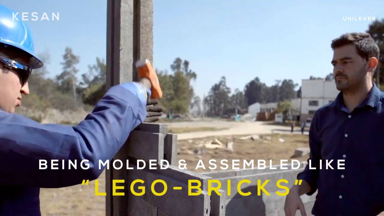В Колумбии строят дома из переработанного пластика