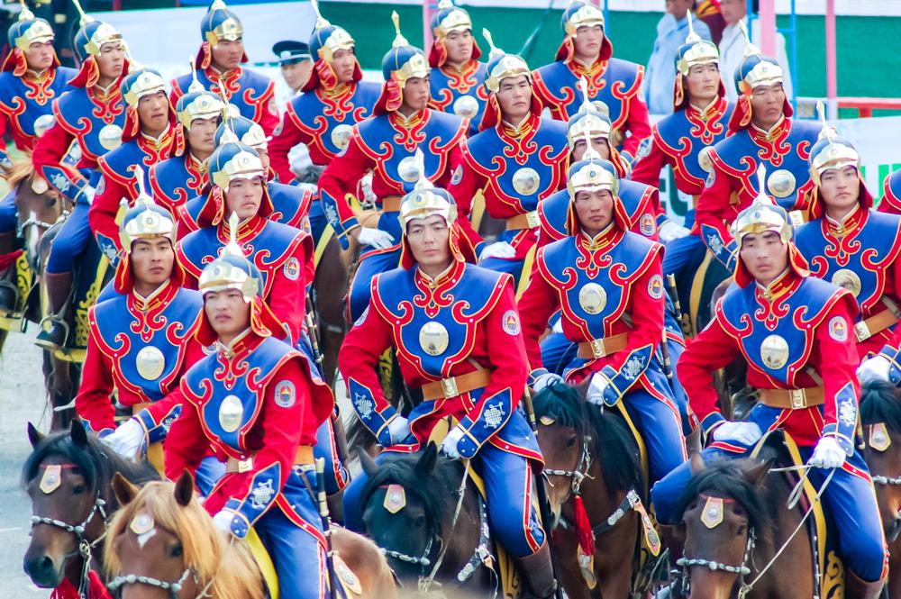Наадам в Монголии