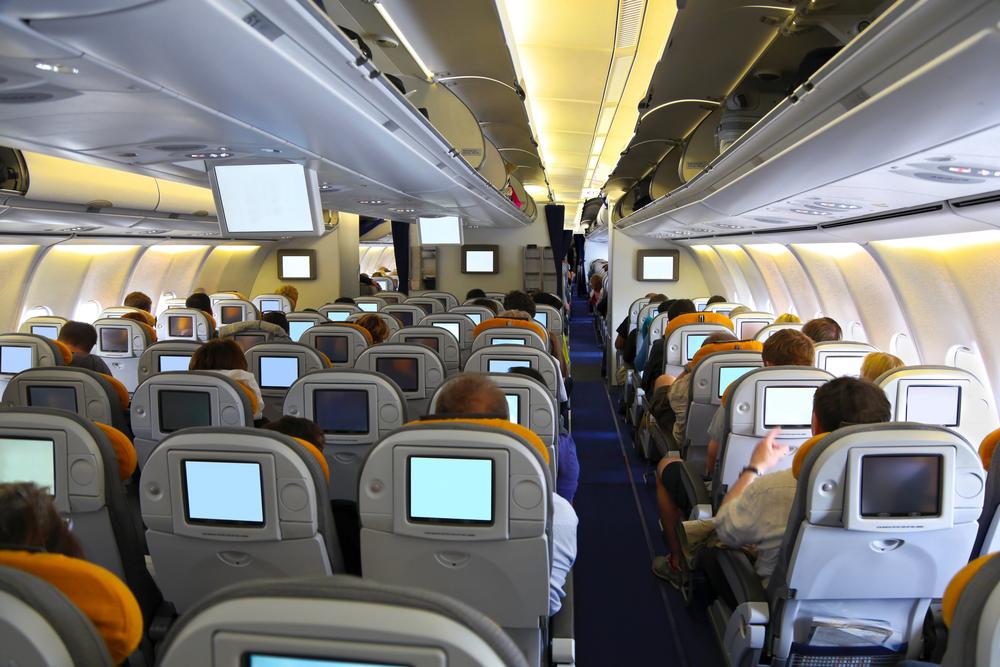 Рассадники бактерий в самолете.Вокруг Света. Украина
