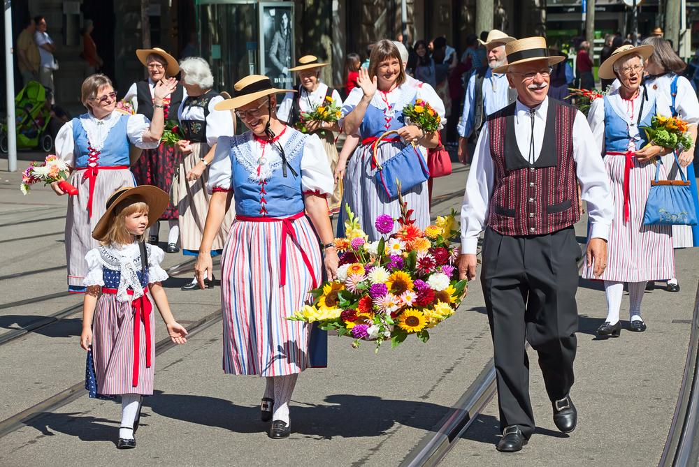 Национальный день в Швейцарии