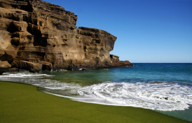 Пляжи мира с разноцветным песком