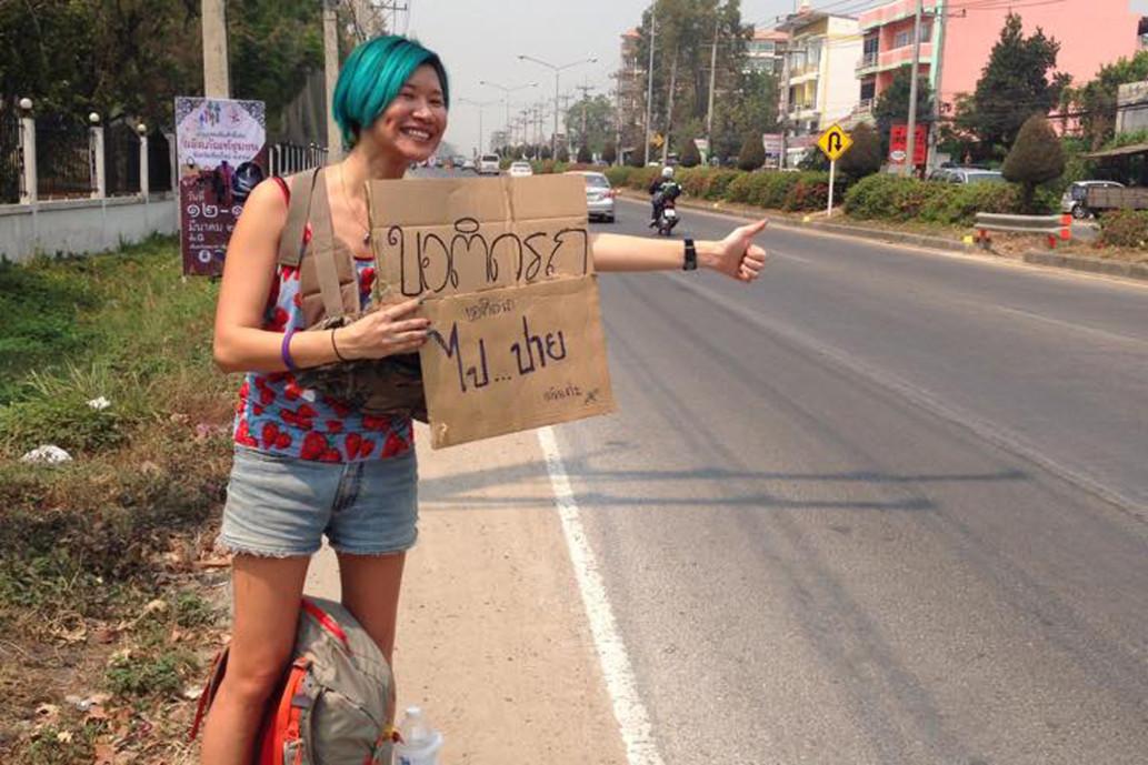 Женщина объехала полмира за $200.Вокруг Света. Украина